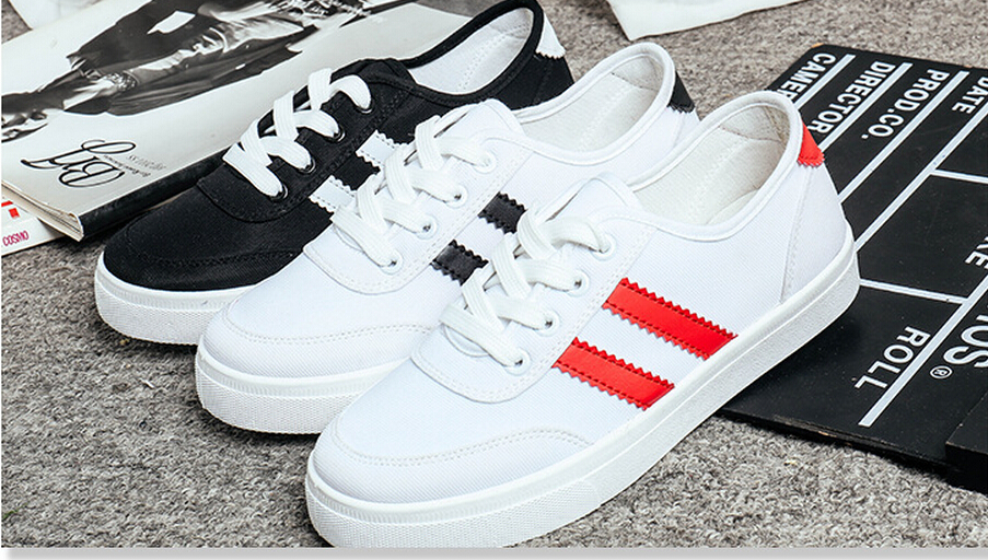 Free shipping! The new 2015 round head foot with low help Korean leisure small white shoes leisure shoes with flat sole(China (Mainland))