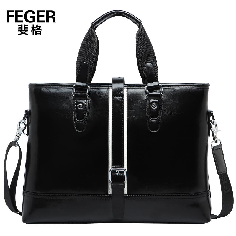Man bag male handbag cross-body bag men horizontal leather business bag bag fashion bag<br><br>Aliexpress