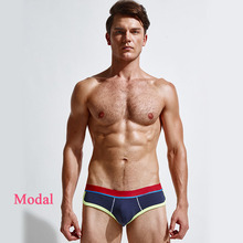 New Cotton Men's Briefs Fashion Sexy Patchwork Men's Underwear High Quality Men's Brief C-683 On Sale Dropshopping(China (Mainland))