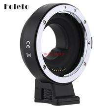 Buy Foleto EF-MFT Electronic Aperture Control Lens Mount Adapter Canon EF EF-S use Olympus PEN E-P1 P2/3/5 E-PL1 OM-D for $118.91 in AliExpress store