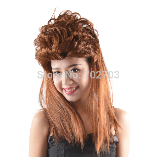 Blown Mullet Wig Halloween