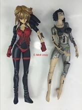 ORZ Anime  Ghost In The Shell PVC Arise border Ghost Stands Alone Kusanagi Motoko Action Figures Collectible Toys 2pcs/set