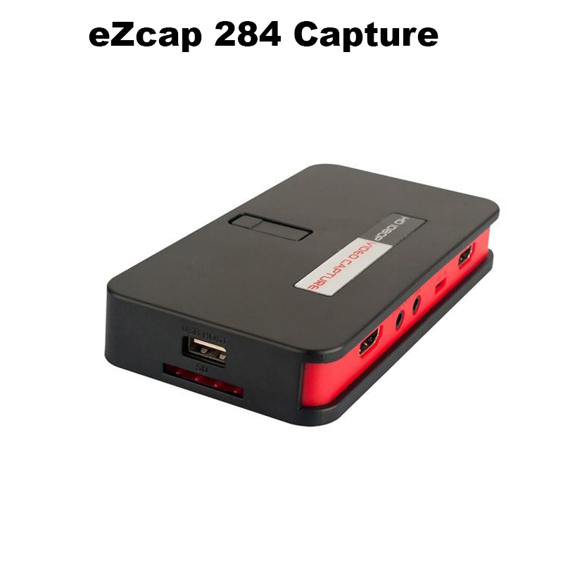 eZcap284 1080P HD Video Game Capture HDMI Recorder Card HDMI/AV/Ypbpr TV Video Recorder With Remote Control Support Mic USB Disk(China (Mainland))