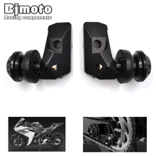 2016 New Motorcycle CNC Rear Axle Spindle Chain Adjuster Blocks Spool Sliders Kit Yamaha YZF R3 R25 MT 03 25 - BJMOTO RACING COMPONENTS MotoSport Store store