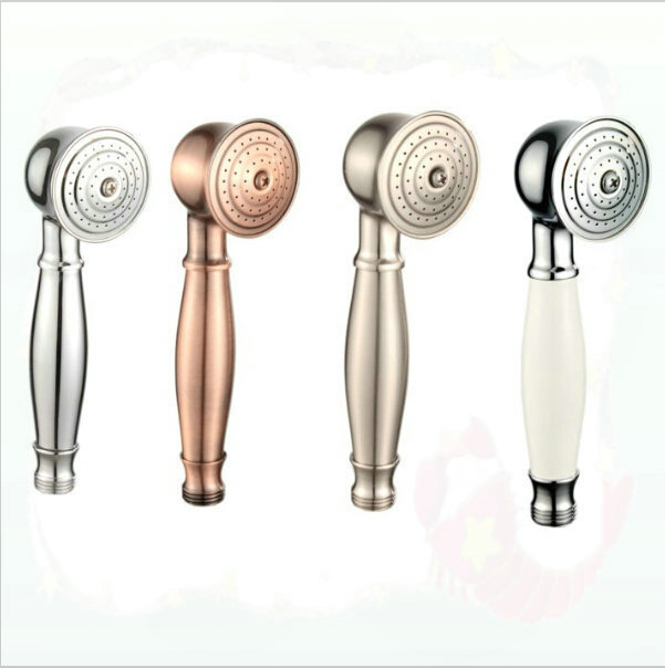 telephone hand held shower head wash tub in bathroom faucet
