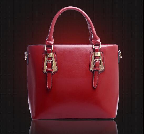 100% Genuine leather Women handbagsThe 2015 explosion of a star with a new fashion handbags handbag leather handbags in winter(China (Mainland))