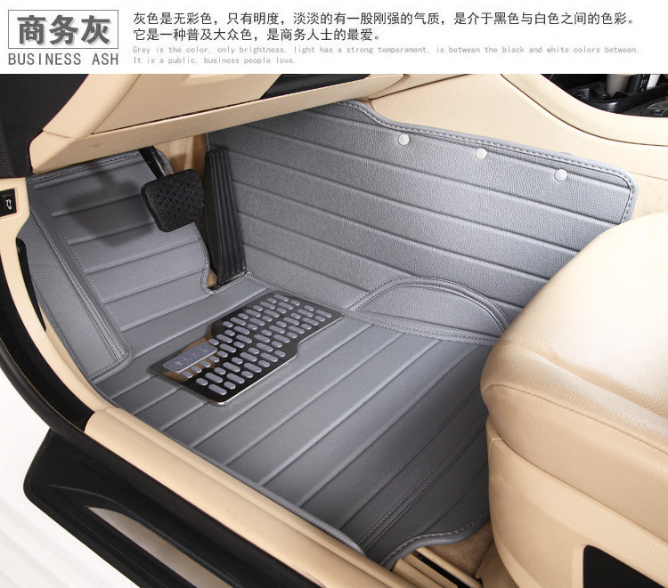 special 5 seats car seat cushion waterproof XPE material non slip full surrounded car floor mats for Great Wall Hover H1(China (Mainland))