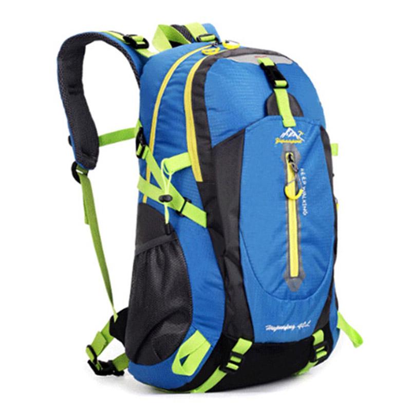 Large Cycling Road Military Backpack Mountain Hiking Backpacks Water-proof Nylon Running Outdoor Travel Packs 40L mochila XA735C(China (Mainland))