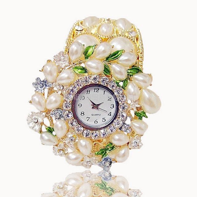 Wholesale fashion watches uss ms pearl with quartz bracelet watches