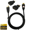 3 in 1 Full HD 1080P HDMI Cable Adaptor Kit