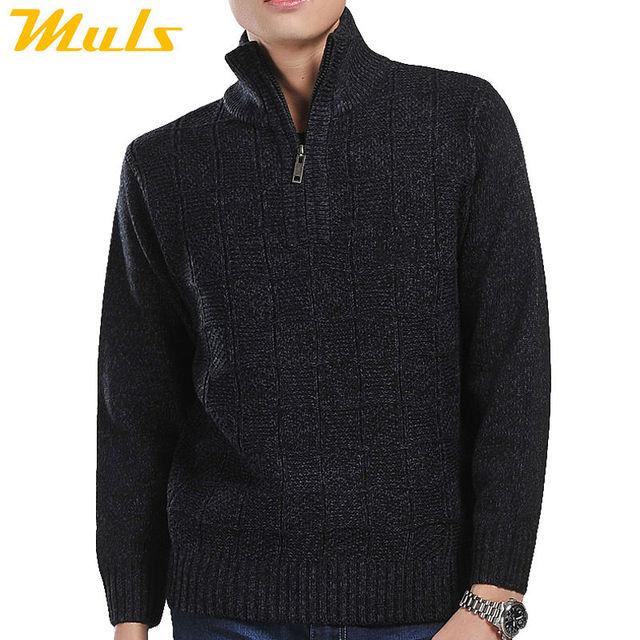 Пальто молния проектирует мужчины бренд свитер зимой платье водолазку пуловер перемычка ...
