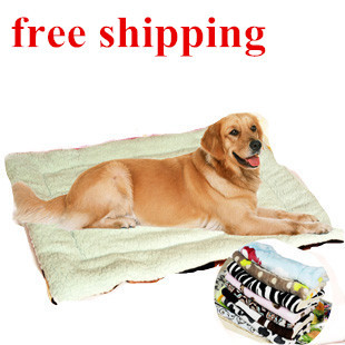 1 Large Dog Bed,Dog Kennel,100% Cotton Mat,Super Soft Winter Pet Big Bed Size 80*60cm