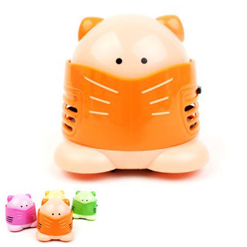 Household Cleaning mini Designers Cat desktop vacuum cleaner cartoon vacuum cleaner mini vacuum cleaner keyboard vacuum cleaner(China (Mainland))