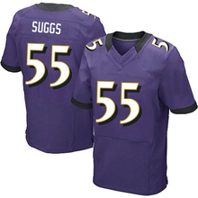 Mens #89 Steve Smith Sr #5 Joe Flacco #55 Terrell Suggs #9 ustin Tucker jersey Purple Black White Elite 100% Stitched logos(China (Mainland))