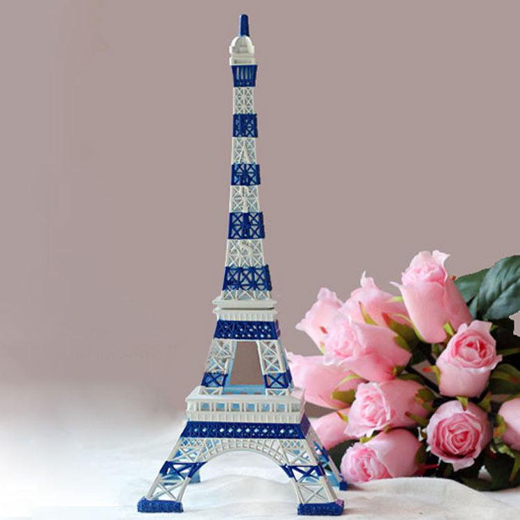 Mediterranean Style Eiffel Tower Model Home Decoration Wedding Gift Creative Crafts In Metal