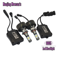 2PCs/Set 9005 HB3 Led Headlights Bulbs 6000W Super White IP68 Waterproof Fast-cooling Headlamp Fog Bulb H10 9006 HB4 Head Lights(China (Mainland))