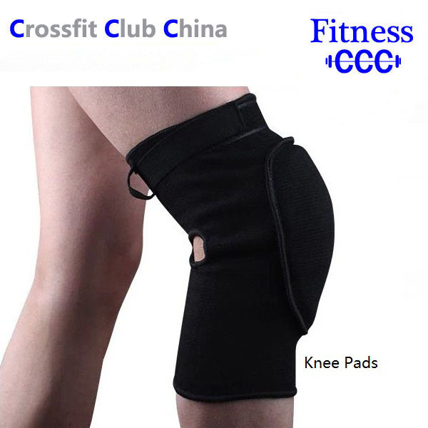 Sports Breathable Knee Support, One Size, Black(1 PAIR Knee Pads)(China (Mainland))