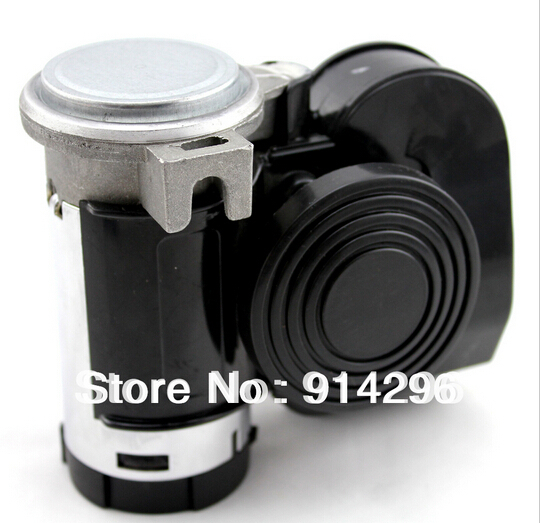Free shipping!12V air horn siren speaker comes with air pump Super loud car horn whistle snail horn for Truck Motorcycle(China (Mainland))
