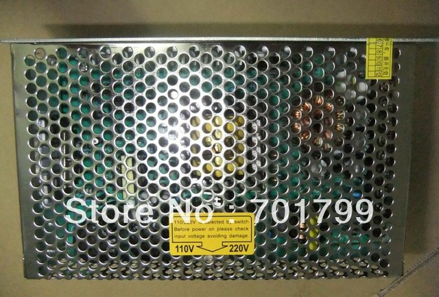 24V 250W LED switch power supply;size:199*98*50mm