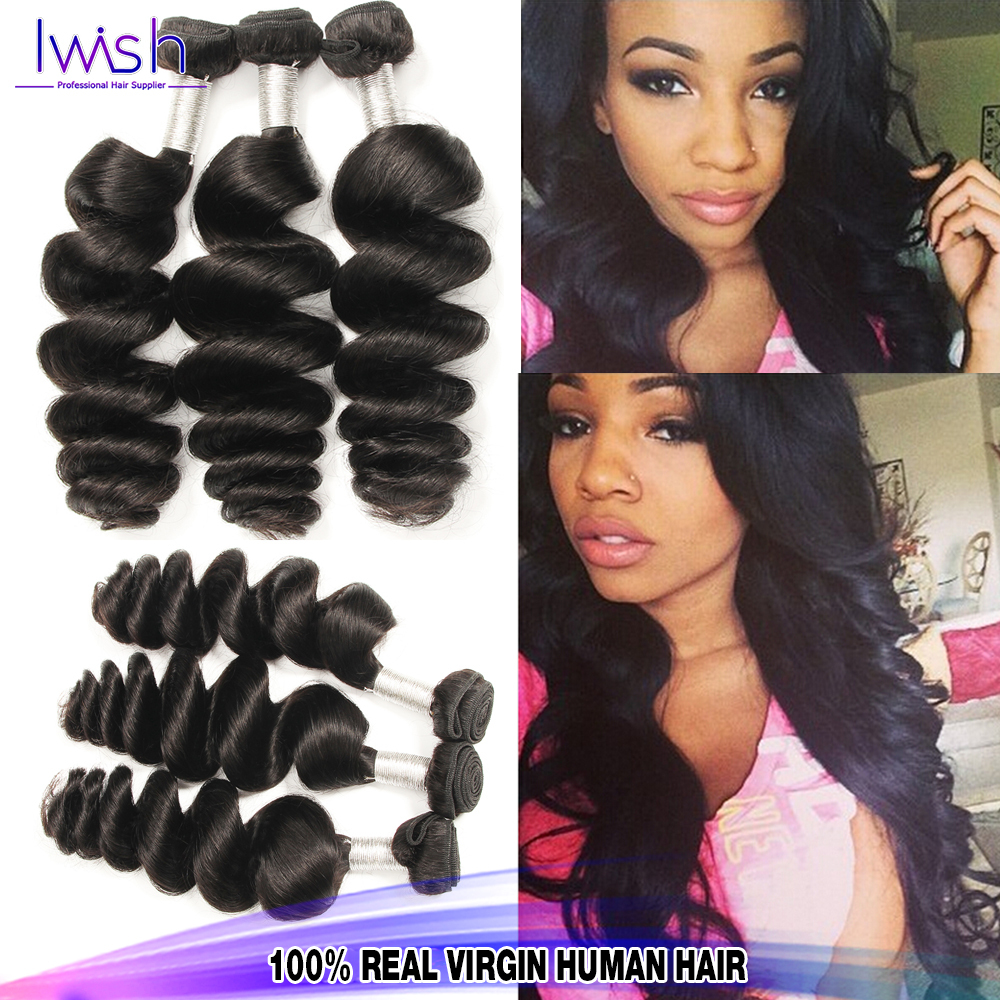 Beautiful Human Hair Human Hair Extensions 4bundles