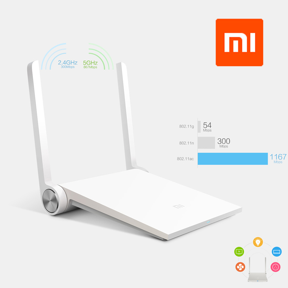 Original Xiaomi Router Mi Router Smart Wireless Router Dual-band 2.4GHz/5GHz Antenna 1167Mbps Wi-Fi 802.11a for PC Phones Tablet(China (Mainland))