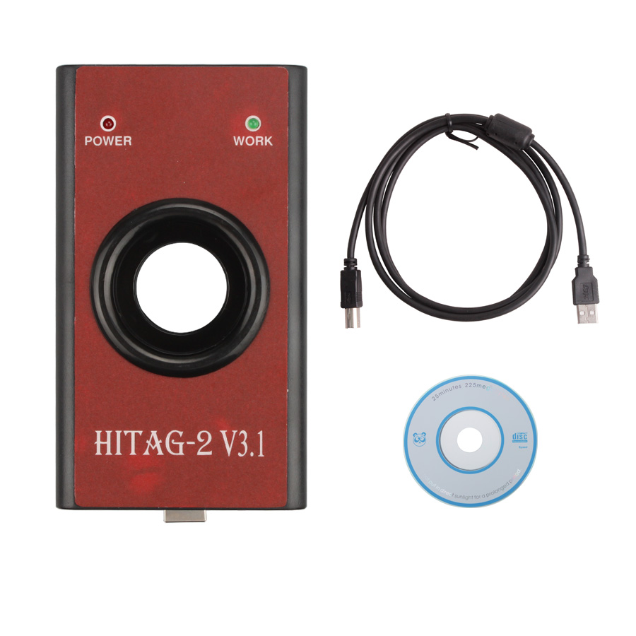 Free Shipping!HiTag2 V3.1 Programmer (Red) Auto Key Machine Titag 2 diagnostic tool(China (Mainland))