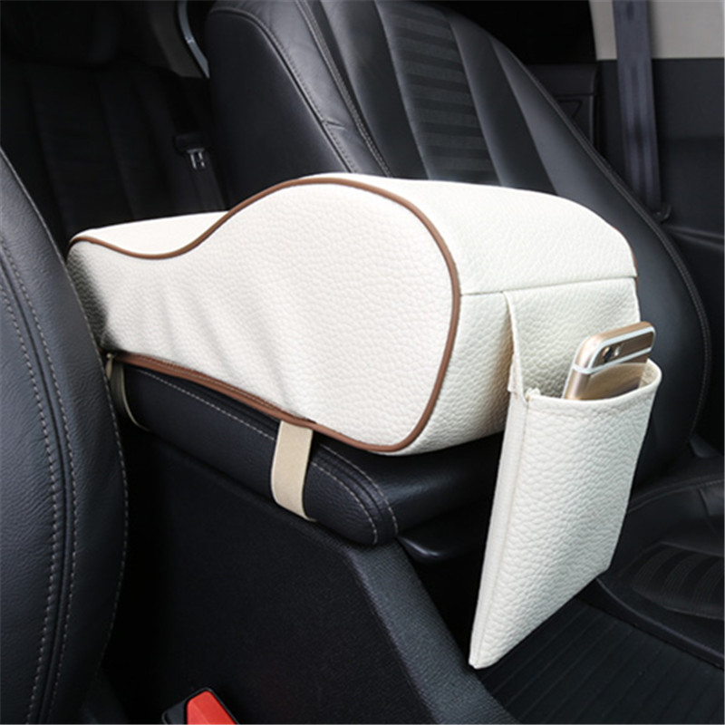 Memory Foam car armrest cover universal vehicle center console arm rest box cushion pad protective car case cushion armrest pad(China (Mainland))