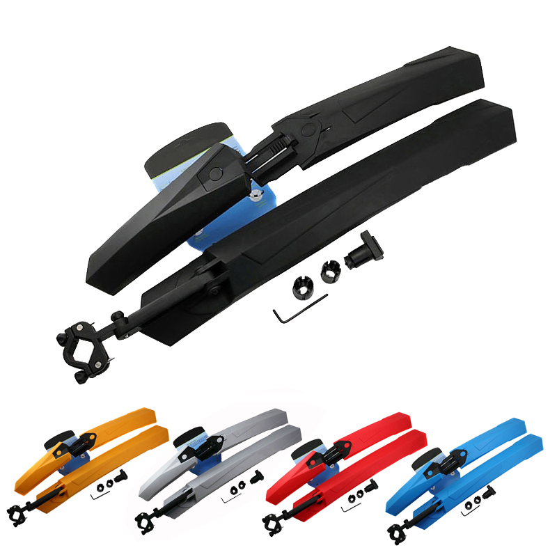 RockBros Mountain Road Bike Front Rear Fenders Set Removable Bicycle Mudguard Mud Guard High Grade Softness Rubber Accessories<br><br>Aliexpress