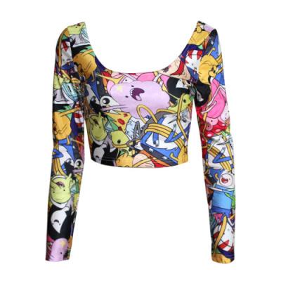 Женская футболка EAST KNITTING x/374 3D X-374 женская футболка east knitting sexy