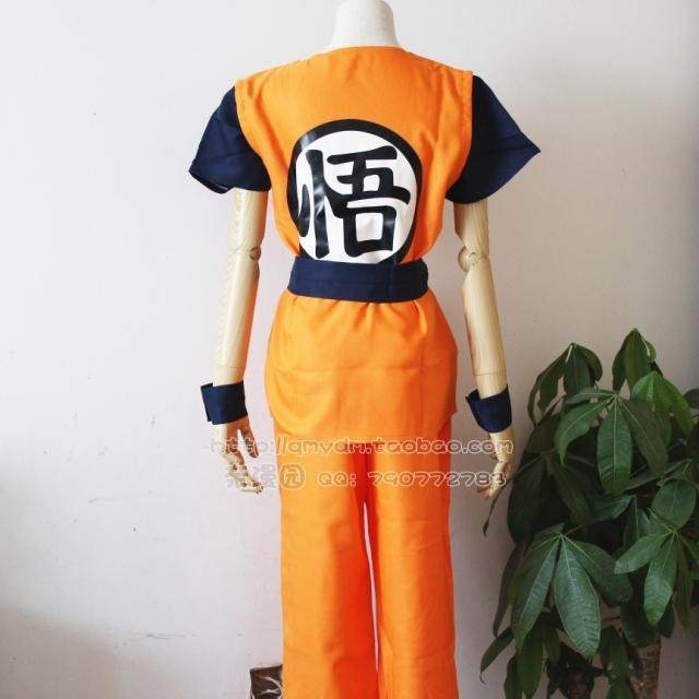 2015 fashion Dragon Ball  Cosplay Costume Son Goku Clothes For Halloween Cospaly Performance Costume