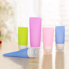 1 pc Portable cosmetic travel points bottling kit tourism supplies hotel supplies silicone bottle  M01855c(China (Mainland))