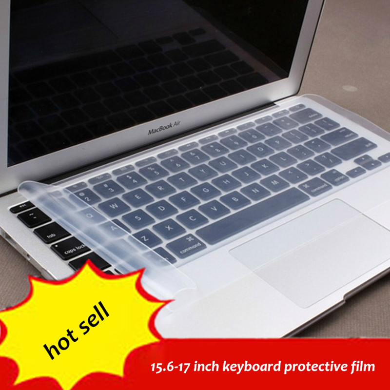 1pc Free Shipping 15.6-17 inch general laptop keyboard Cover Protector silicone gel film protective(China (Mainland))