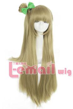 Love Live  Straight Flaxen Minami Kotori Cosplay Wig
