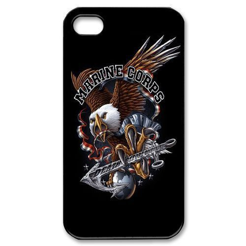 Eagle Marines Corps USMC Cover case for iphone 4 4s 5 5s 5c 6 6s plus samsung galaxy S3 S4 mini S5 S6 Note 2 3 4 z1319(China (Mainland))