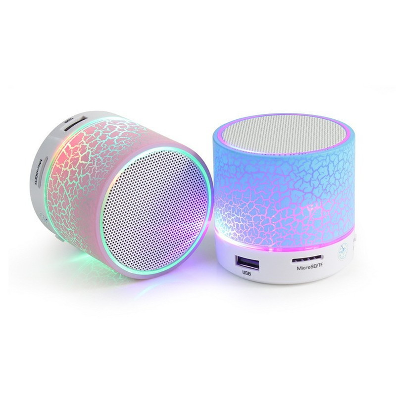 Bluetooth Speaker Light Mini Portable Music Wireless Speaker Sound Box V4.0 Subwoofer 3.5MM AUX TF For Phone Computer MP3 MP4(China (Mainland))