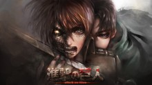 Free shipping Attack on Titan (2013) Japanese sci-fi anime Poster print silk fabric wall decoration 24x36in(1447181930751)