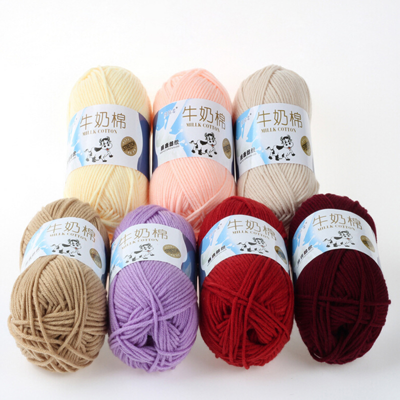 Crocheting With Thick Yarn : Color Thick Yarn for Knitting Wool Cotton Yarn Knitting Yarn Crochet ...