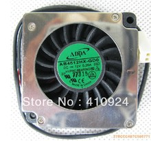 Used Free Shipping DC12V 0.2A Server Cooling Fan For ADDA AB4512HX-GD0 (EXC) S Server Blower Fan 45x45x10mm 2-wire