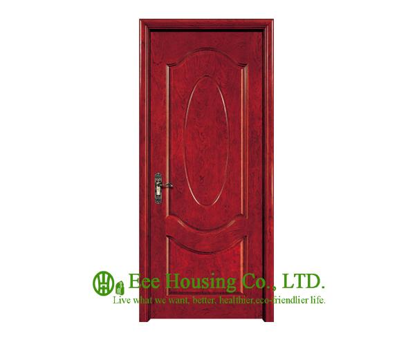40mm thickness Timber veneer door for apartment, Swing type door, inward &amp; outward opening entry door, MDF Timber door<br><br>Aliexpress