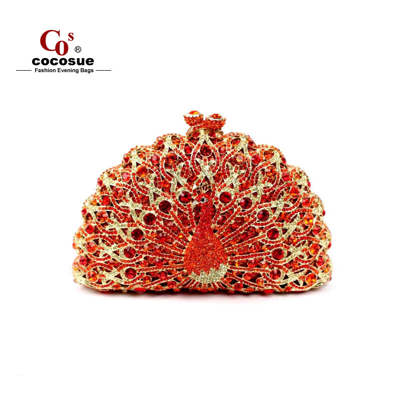 Evening Bags PU Leather Peacock Shaped Women Handbag Fashion Designer 2015 Female CO9797 - Guangzhou cocosue Co., Ltd. store