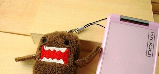 10PCS Mini 4*3CM Domo Plush Stuffed TOY , Small Phone Charm Strap Pendant Lanyard DOLL , BAG Key Chain TOY Bouquet TOY(China (Mainland))
