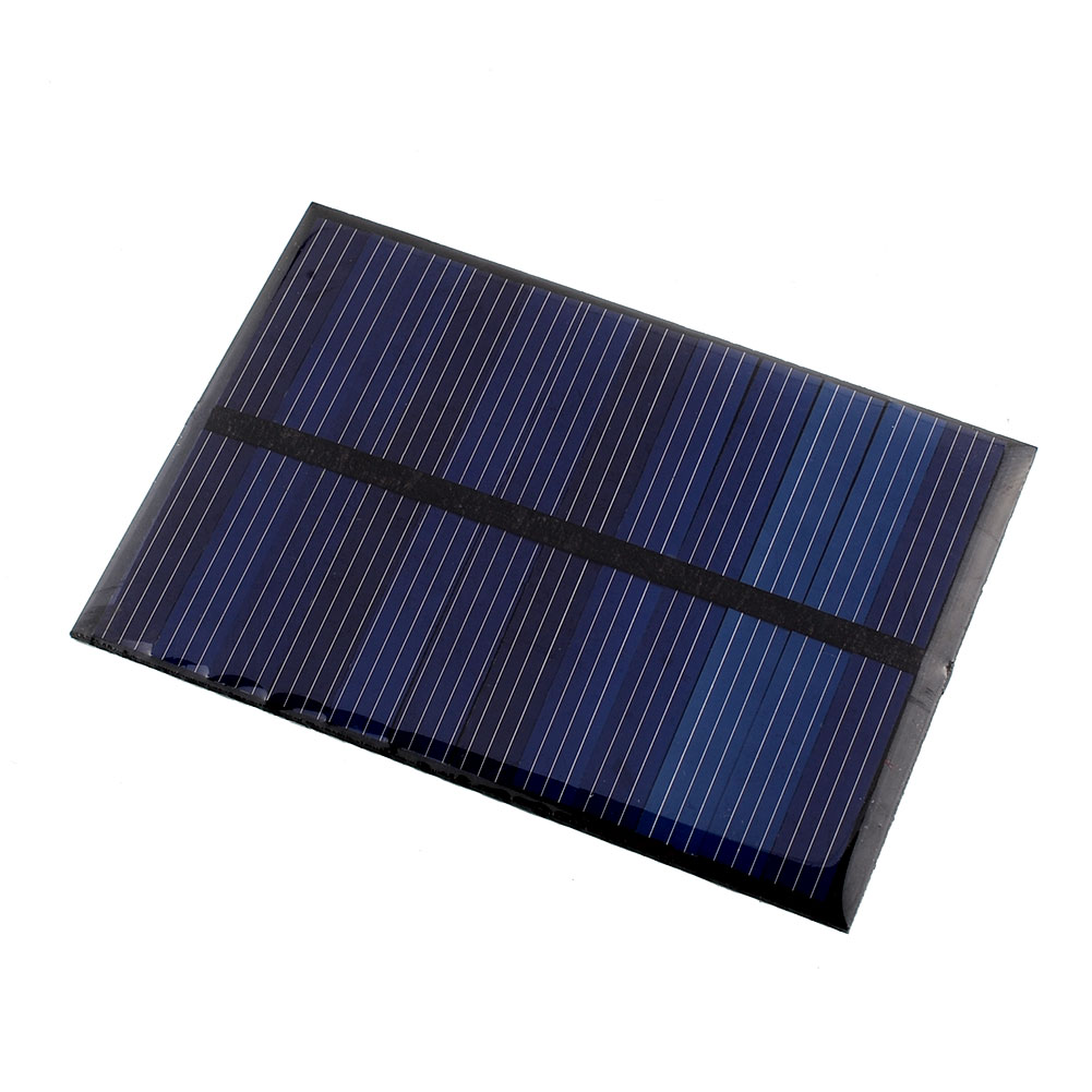 6V 0.6W Solar Power Panel Poly Module DIY Small Cell Charger For Light Battery Phone Toy Portable Drop Shipping(China (Mainland))