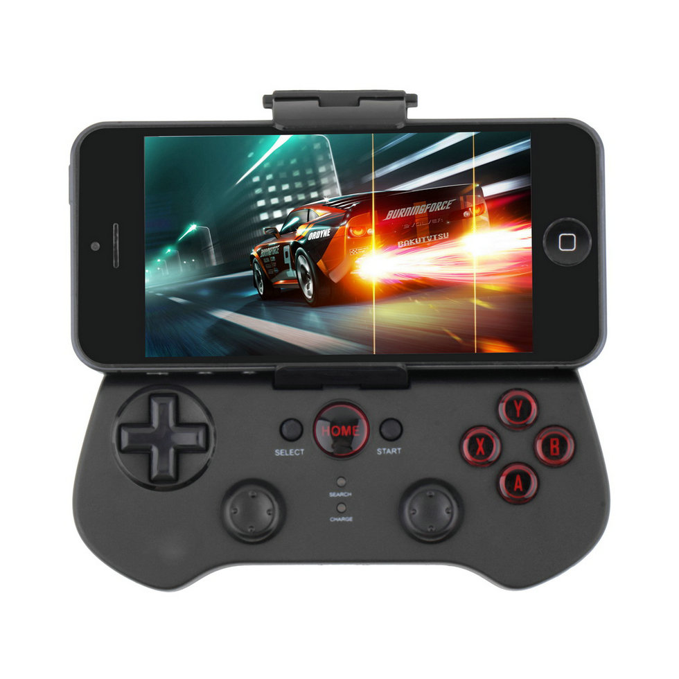 1pc High Quality iPega PG-9017 Wireless Bluetooth Game Pad Controller For iPhone for Android for HTC Free Shipping(China (Mainland))