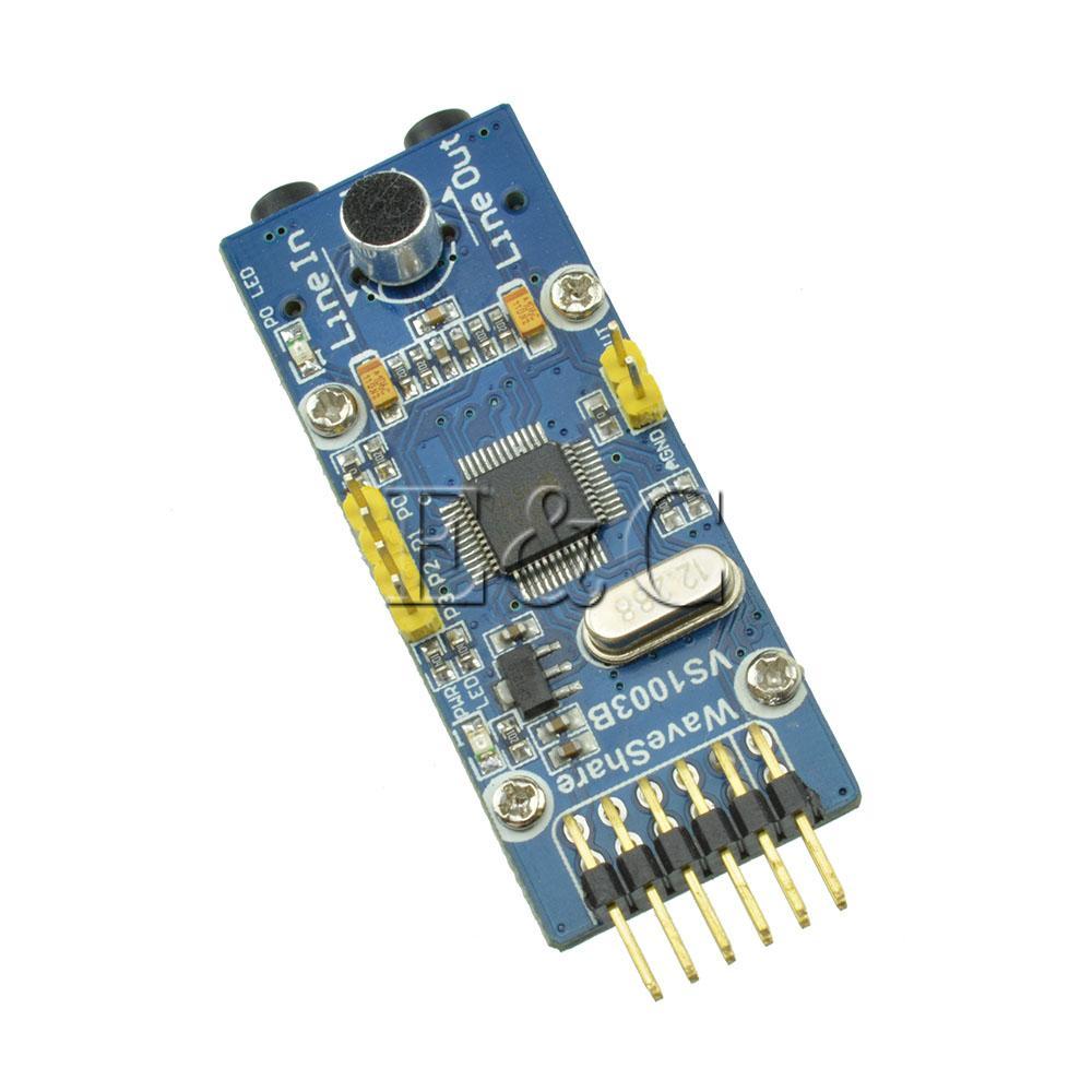 VS1003B MP3 Board VS1003 WMA WAV Audio Codec Decode Encode Development Module(China (Mainland))