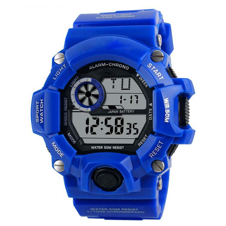 Relogio Masculino Fashion Casual Men Sports Watches Kids LED Digital Wrist Watch Male Clock Montre Homme Reloj Hombre De Marca(China (Mainland))