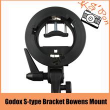 Godox S-type Bracket Bowens Mount Holder for Speedlite Flash Snoot Softbox Honeycomb(China (Mainland))