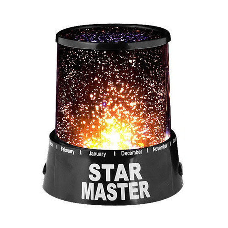 Night Light for Kids Colorful Sky Star Master Night Light Lovely Novelty Gifts LED Light Lamp -30(China (Mainland))
