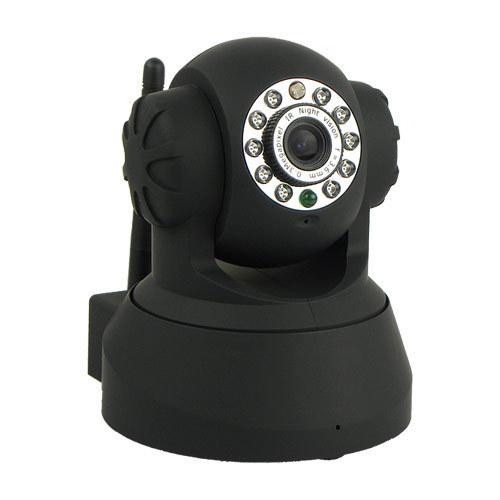 P2P Wireless WiFi Dual Audio IR Night Vision Speed Monitor CCTV Security Surveillance Webcam Network IP Camera C1021A(China (Mainland))