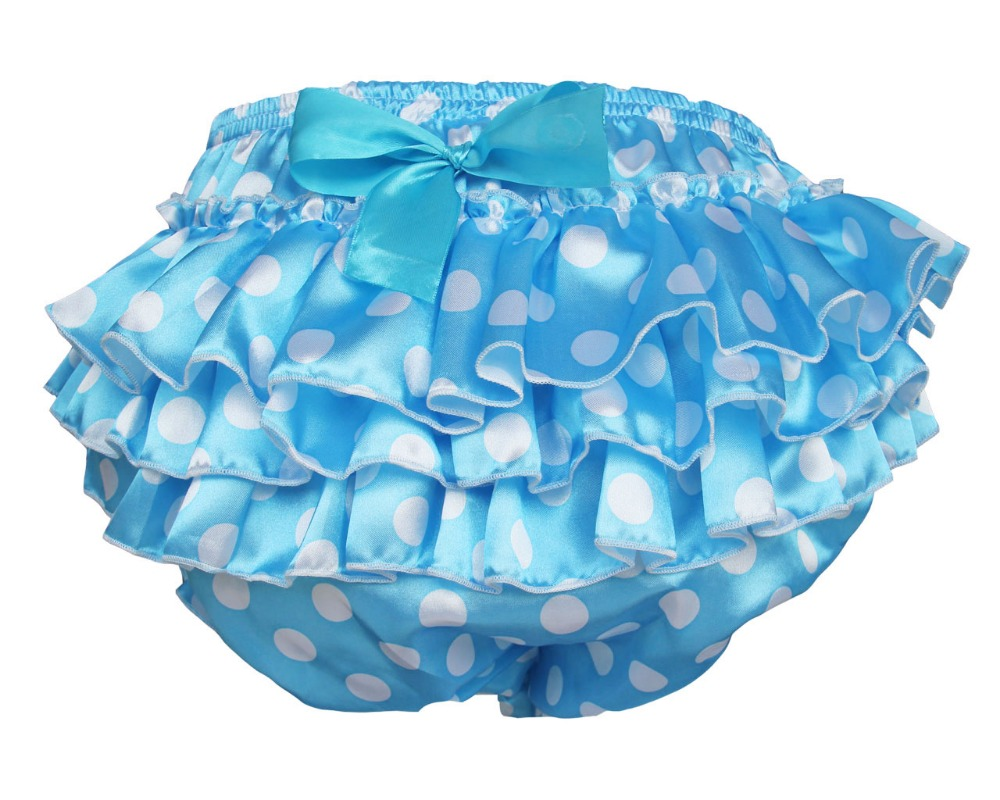 Adult Baby Ruffle Panties Bloomers incontinence Diaper Cover #FSP06-6(China (Mainland))