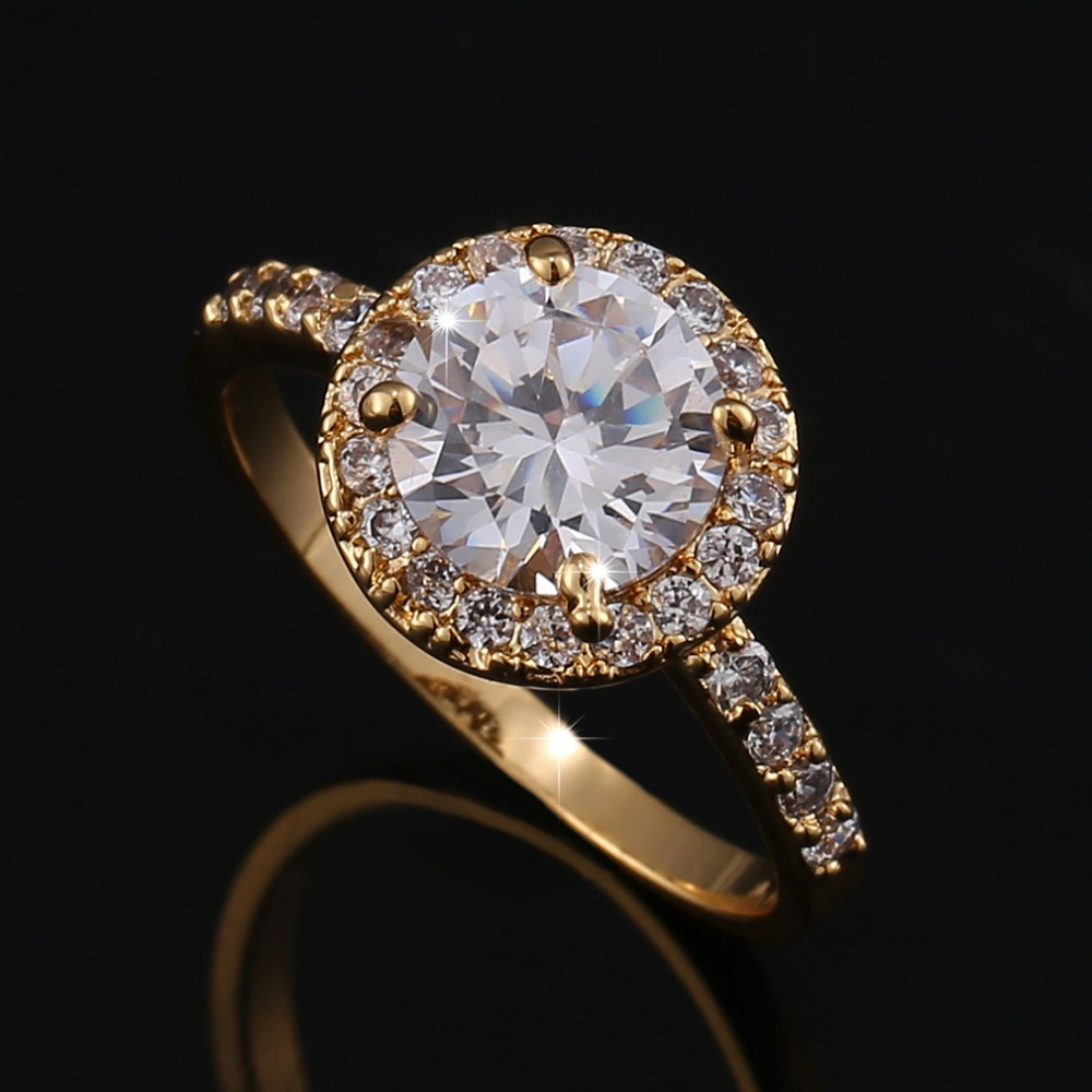 Buy Rings For Women Wedding Ring Big Crystal Jewelry Engagement Rings